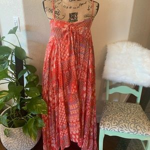 NWOT LoveStitch flowy, hi-low maxi dress